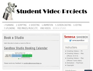 Creating Educational Videos (students)