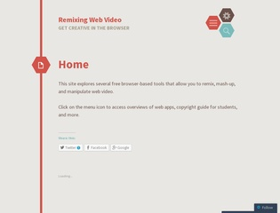 Remixing Web Videos