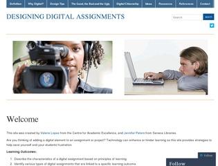 Designing Digital Assignments