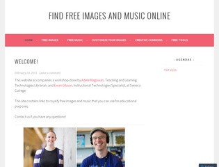Find Free (and Legal!) Images and Music Online