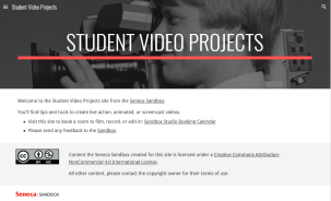 studentvideoprojects